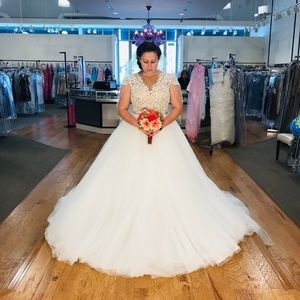 Calla Blanche Wedding Dress 16108L